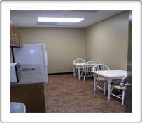 The Break Room in the The Atrium Office Suites